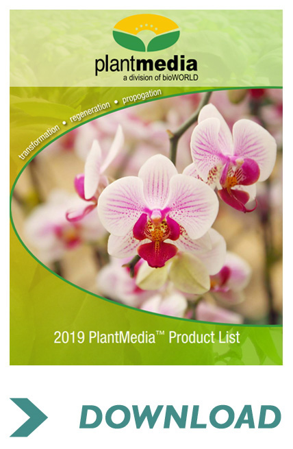 Information about Plantmedia products for plant transformation, regeneration & propagation, a division of bioWord